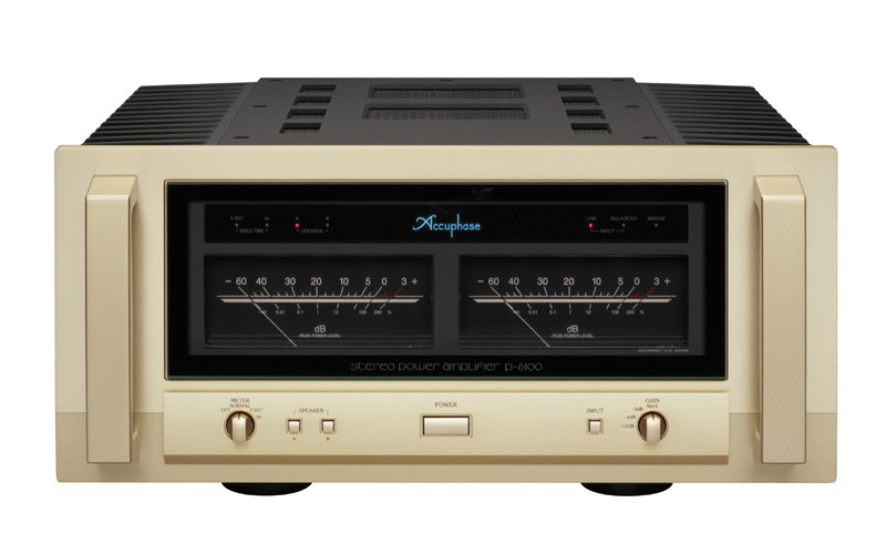 ACCUPHASE P-6100 & ACCUPHASE E460