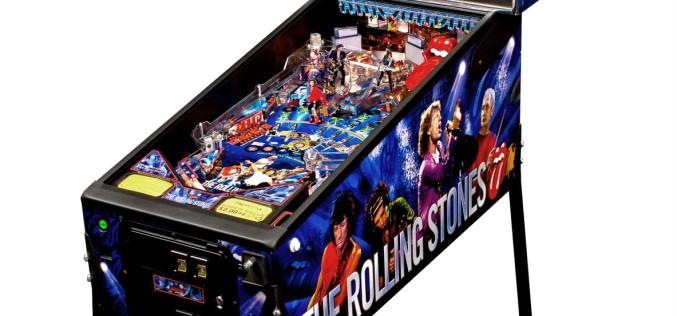THE ROLLING STONES PINBALL MACHINE