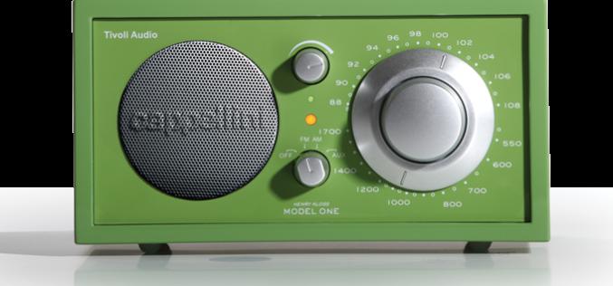 TIVOLI AUDIO CAPPELLINI MODEL ONE RADIO