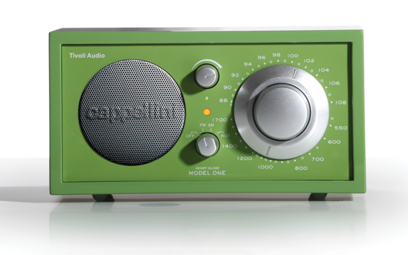 TIVOLI AUDIO CAPPELLINI MODEL ONE RADIO