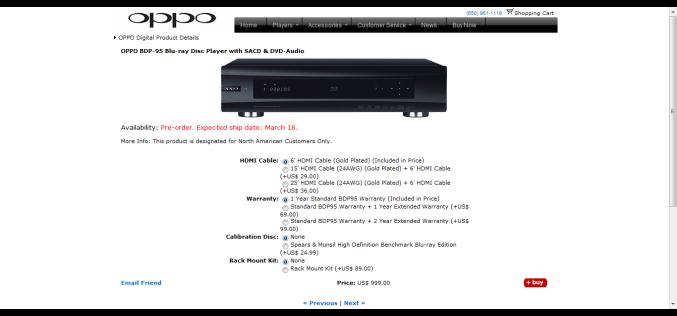 OPPO-95: PRE ORDER
