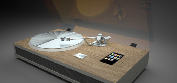 TURNTABLE iPHONE DOCK