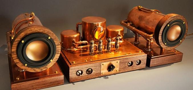 BOILER SPEAKERS & STEAM AMP