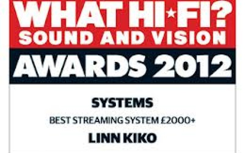 WHAT HIFI AWARDS 2012