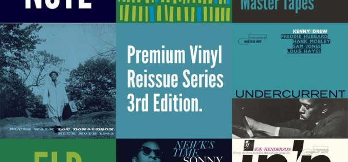 BLUE NOTE PREMIUM VINYL REISSUE SERIES