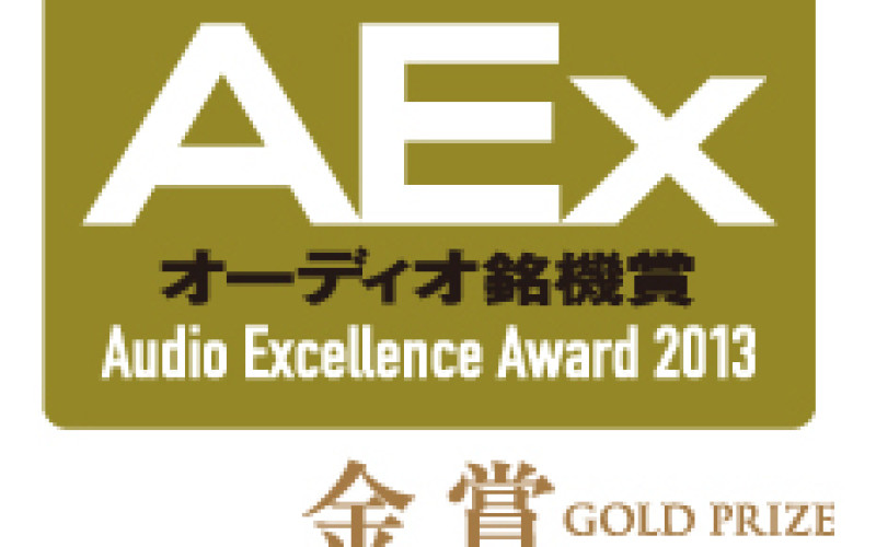AUDIO EXCELLENCE AWARD 2013