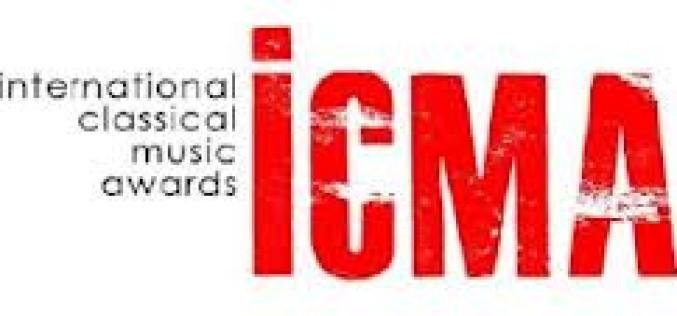 INTERNATIONAL CLASSICAL MUSIC AWARDS 2013