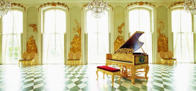 BECHSTEIN GOLDEN GRAND PIANO