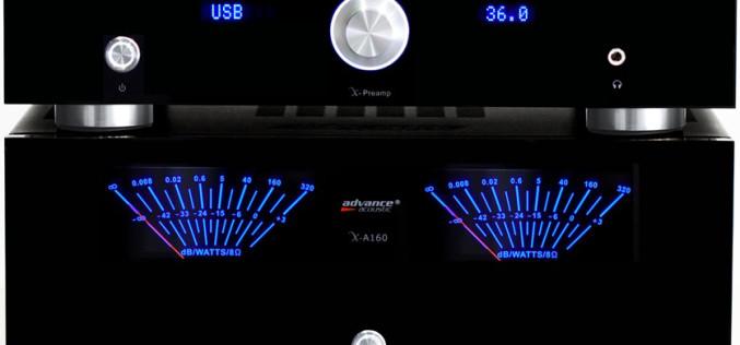 ADVANCE ACOUSTIC X-PREAMP & X-A160
