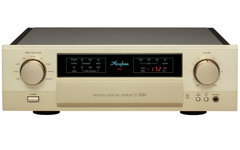 ACCUPHASE P4200 & C2120