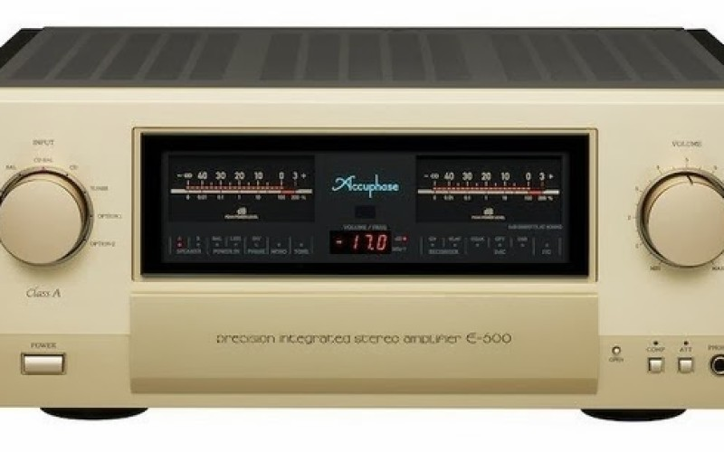 ACCUPHASE E-600, DP-720 & DG-58