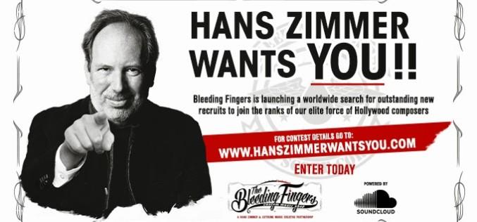HANS ZIMMER WANTS YOU