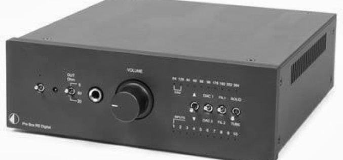 PRO-JECT AUDIO DAC BOX RS & PRE BOX RS DIGITAL