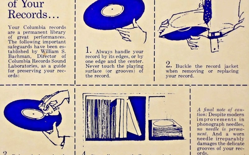 TAKE CARE OF YOUR RECORDS…