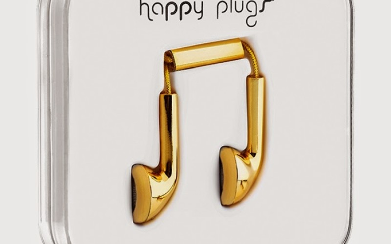 HAPPY PLUGS 18K GOLD