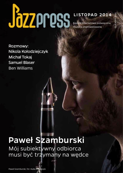 JAZZPRESS LISTOPAD 2014