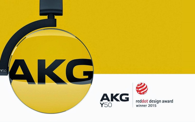 RED DOT DESIGN DLA AKG Y50