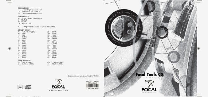 FOCAL TOOLS CD