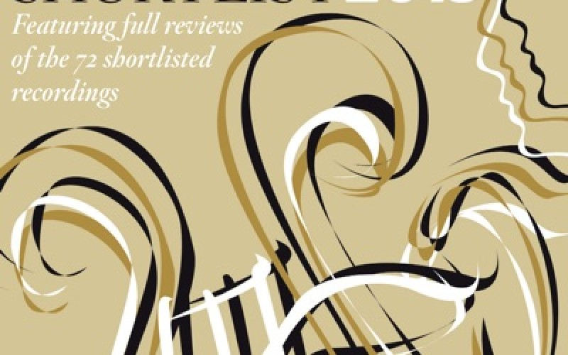 THE GRAMOPHONE AWARDS SHORTLIST 2015