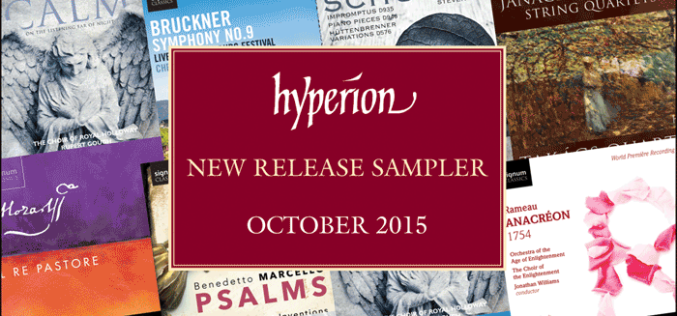 HYPERION NEW RELEASE SAMPLER OCTOBER 2015