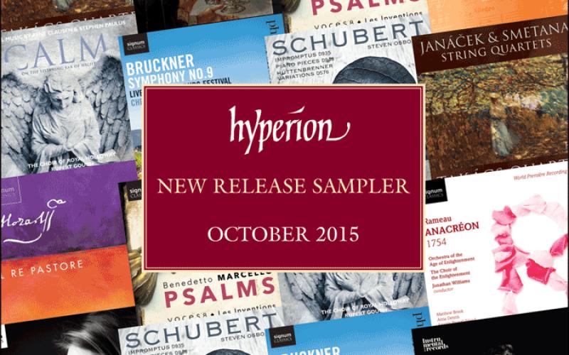 HYPERION NEW RELEASE SAMPLER OCTOBER 2015