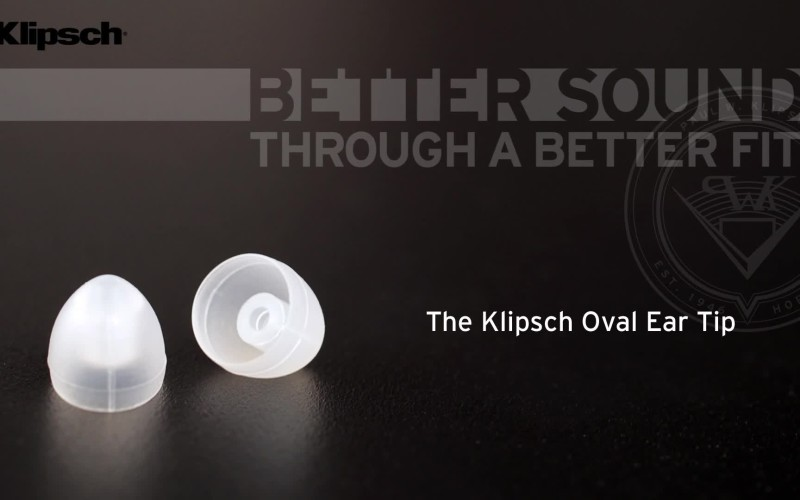 KLIPSCH OVAL EAR TIPS