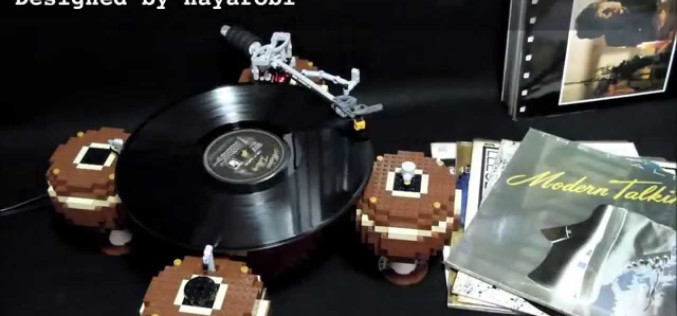 LEGO RECORD PLAYER 1