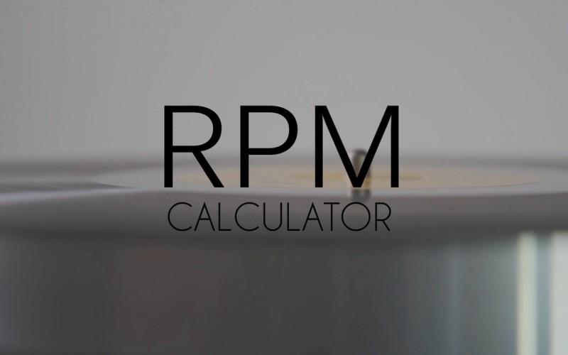 RPM CALCULATOR
