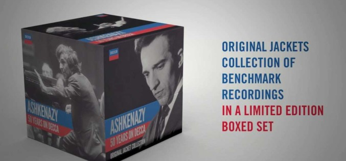 VLADIMIR ASHKENAZY – 50 YEARS ON DECCA