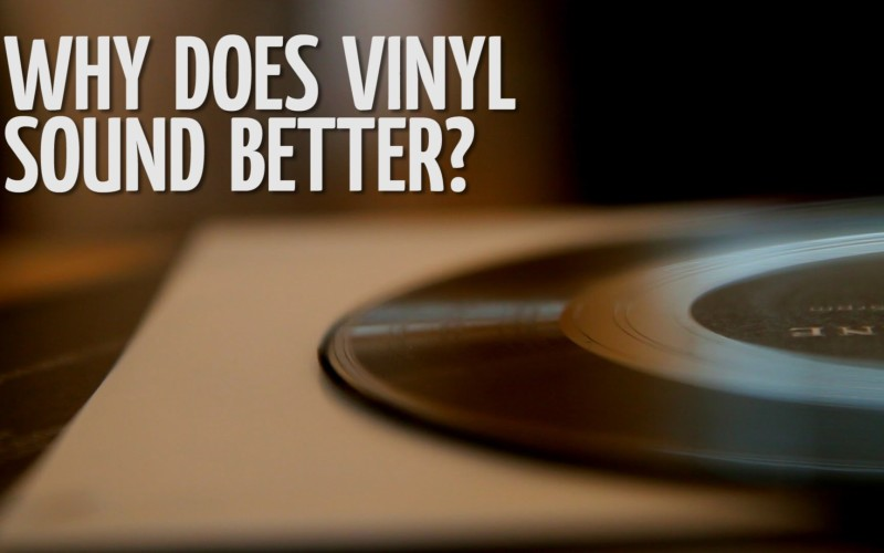 WHY DOES VINYL SOUND BETTER THAN MP3