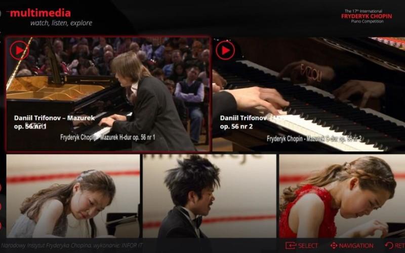 Koncerty Konkursu Chopinowskiego w Samsung Smart TV