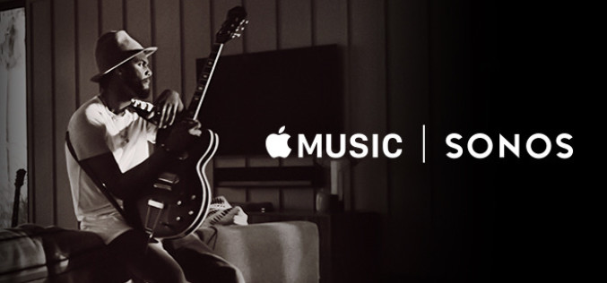 APPLE MUSIC x SONOS