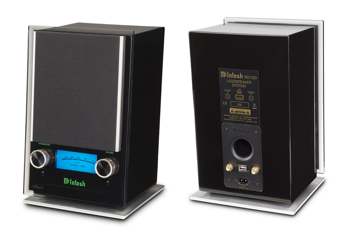 McINTOSH MX122, MB50 & RS100
