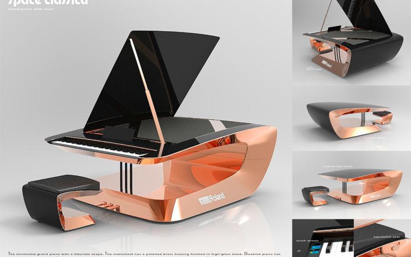 ROLAND DIGITAL PIANO DESIGN AWARDS