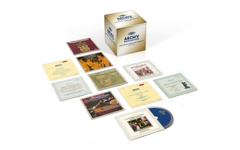 ARCHIV PRODUKTION: ANALOGUE STEREO RECORDINGS 1959-1981