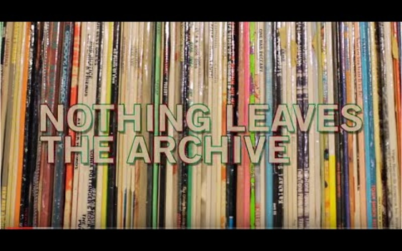 NOTHING LEAVES THE ARCHIVE