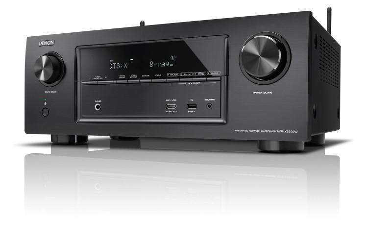 DENON AVR-X3300W, AVR-X2300W & AVR-X1300W