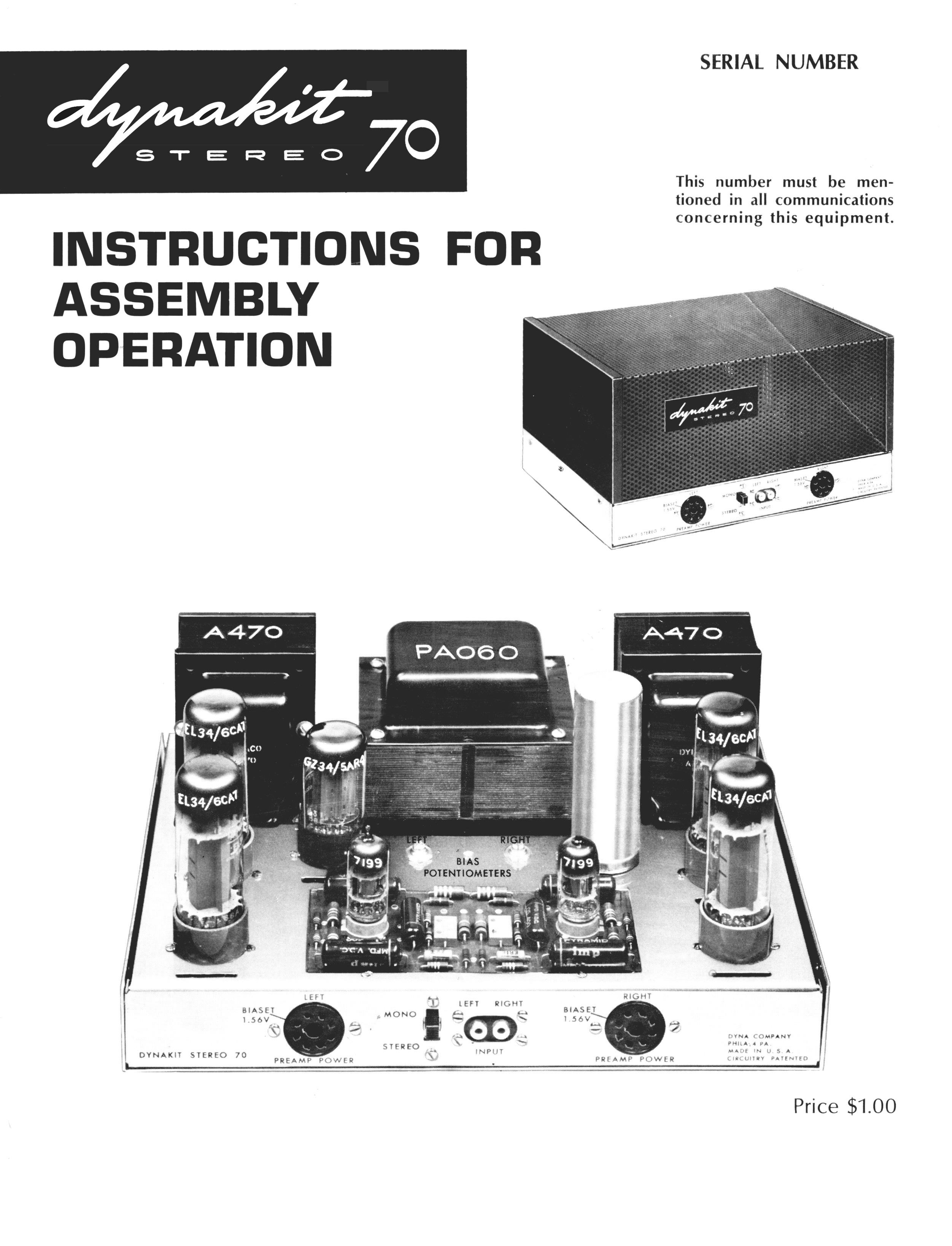 DYNACO ST30 SERIES 3   Audio Lifestyle