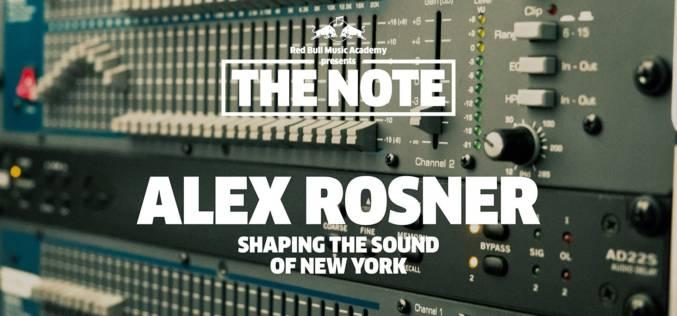 THE NOTE: ALEX ROSNER