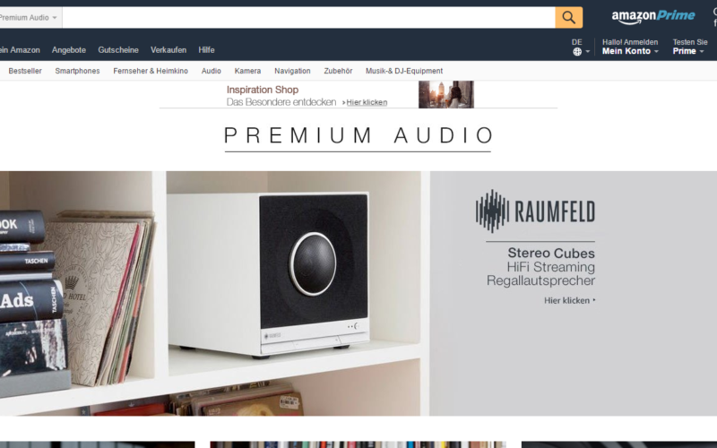 AMAZON PREMIUM AUDIO