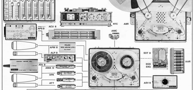 METAXAS STELLAVOX REFERENCE ANALOGUE TAPE RECORDINGS