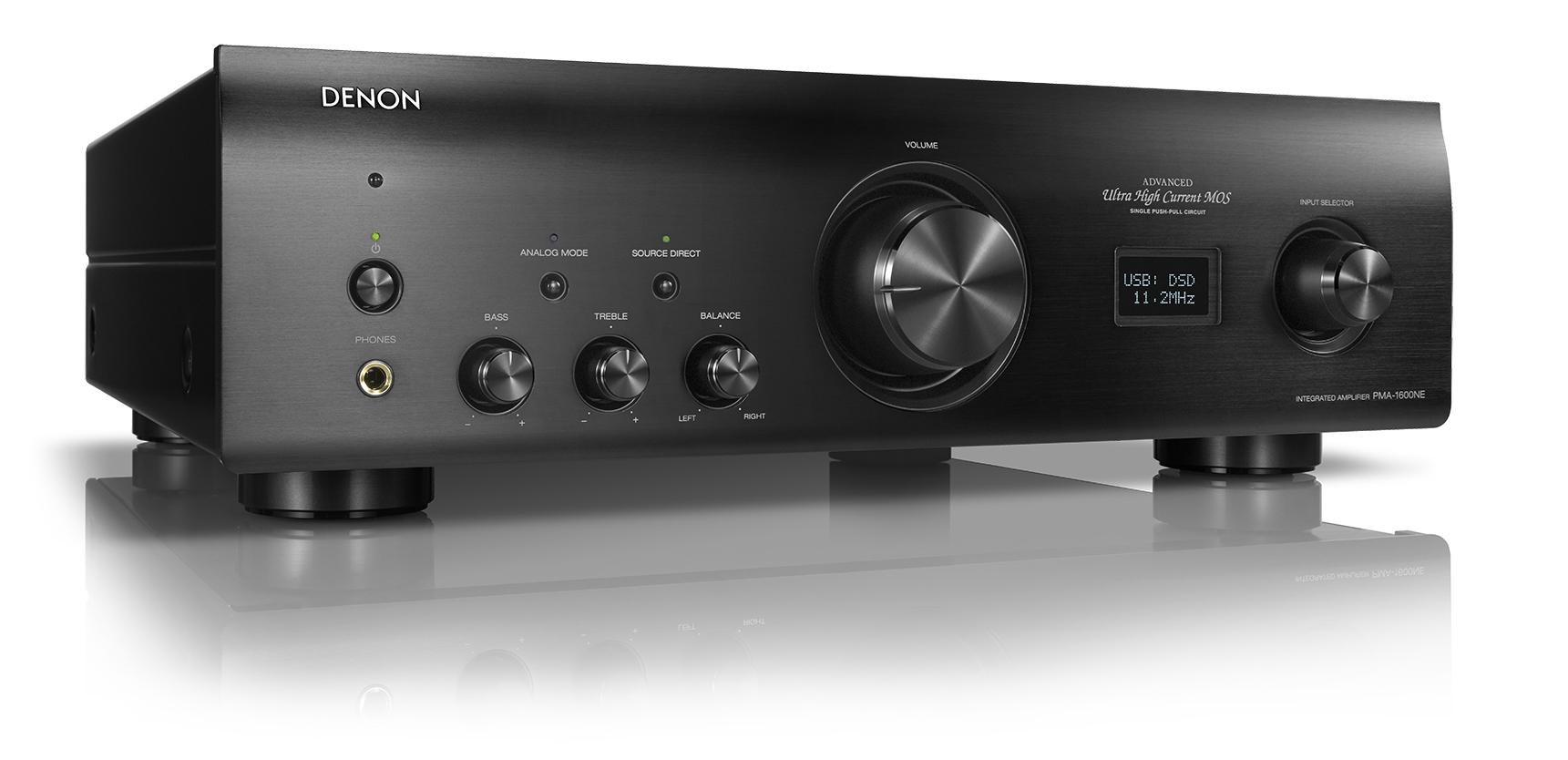 denon pma 1600ne dcd 1600ne audio lifestyle. Black Bedroom Furniture Sets. Home Design Ideas