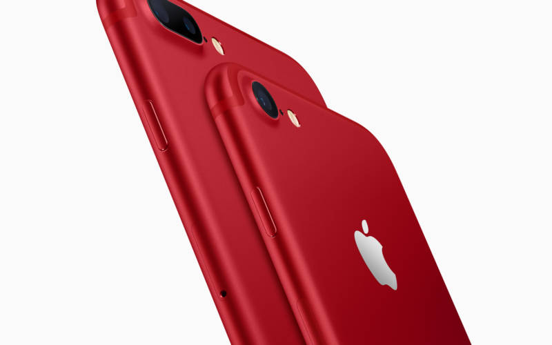 iPhone 7 & iPhone 7 Plus RED SPECIAL EDITION