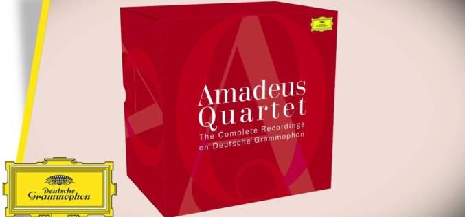 AMADEUS QUARTET – COMPLETE DG RECORDINGS