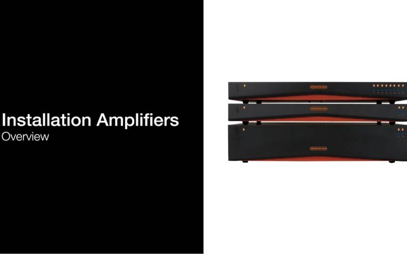 MONITOR AUDIO INSTALLATION AMPLIFIERS