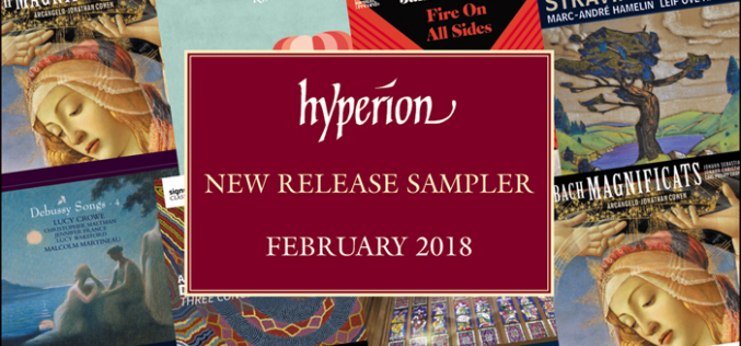 HYPERION RECORDS LUTY 2018