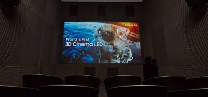SAMSUNG 3D CINEMA LED