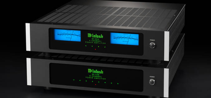 McIntosh Multi-Channel Distribution Amplifiers and Series of In-Wall & In-Ceiling Speakers