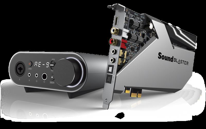 Sound Blaster AE-9 i Sound Blaster AE-7