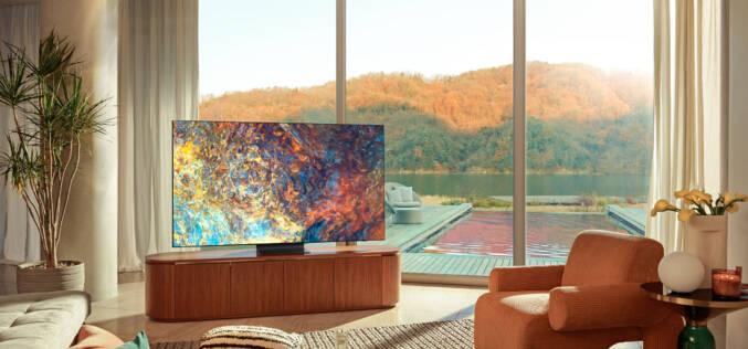 Telewizory Samsung Neo QLED, MicroLED i linia Lifestyle TV
